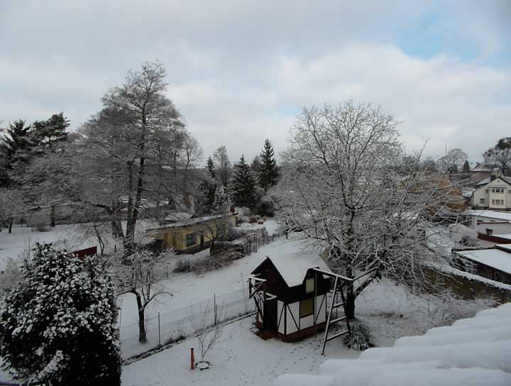 Winterimpressionen in Woltersdorf