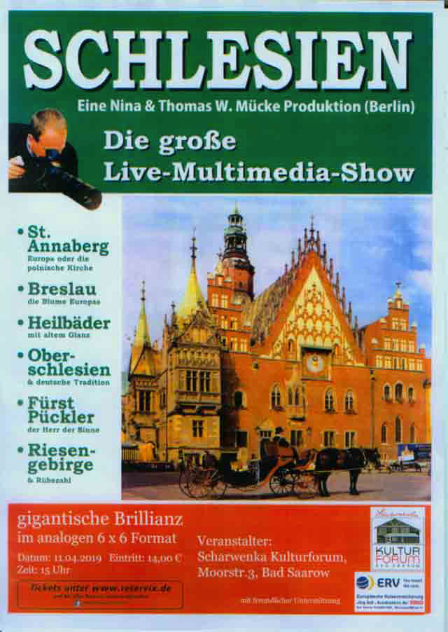Bad Saarow Schlesien Multimedia Show